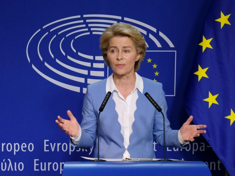Von der Leyen wins liberal support for European Union executive top job
