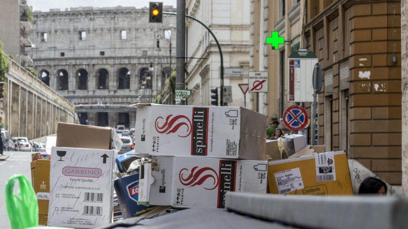 Рим готовится вывозить мусор в другие страны