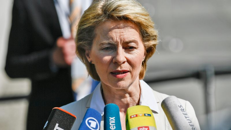 Von der Leyen's French inspiration on climate protection