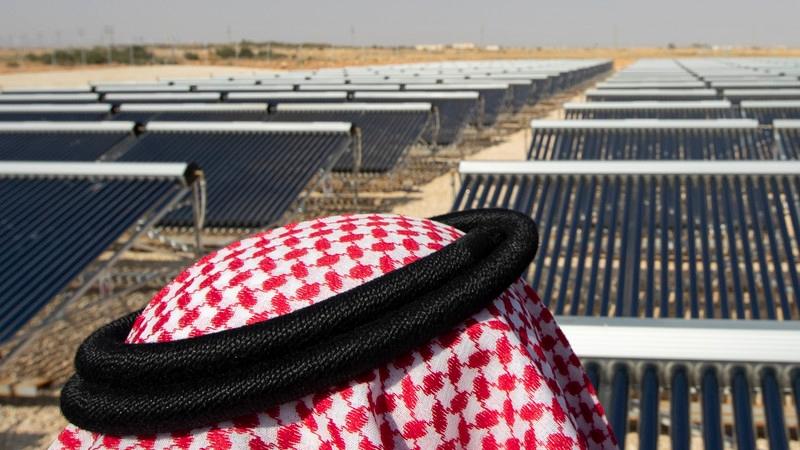 As the sun sets on oil, the sun will rise on solar power