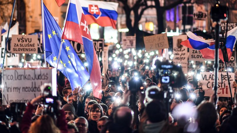 Fight against top-level corruption is needed in Slovakia, says monitoring report