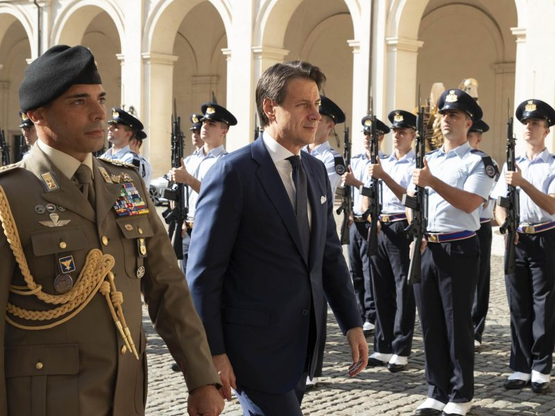 Italy's 5-Star chief inflexible in dealing for new coalition