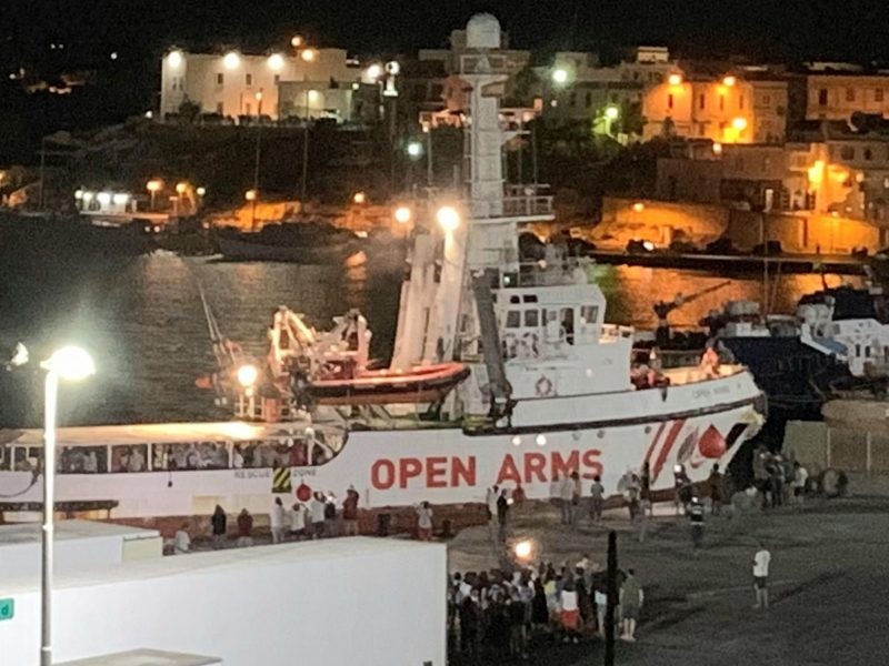 European Union countries to take in 356 people on board rescue ship
