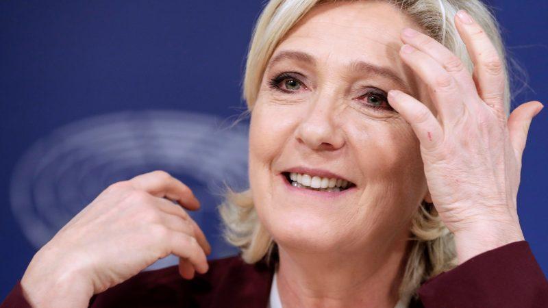 Le Pen hails EU 'way of life' job as victory on path to Élysée