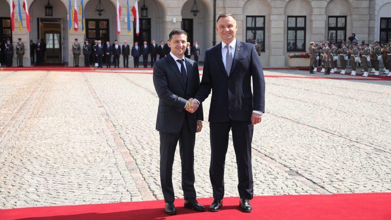 Zelenskiy slams Nord Stream 2 as Ukraine seeks LNG gas from the US