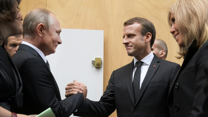 EU divisions over Russia mount as France, Germany seek ...