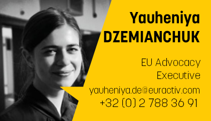 Yauheniya Dzemianchuk