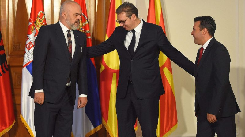 Three countries agree mini Schengen in the Balkans