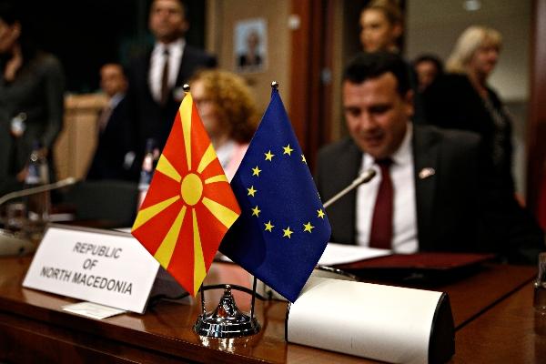 Skopje on fire as MEPs slam EU leaders' failure to open accession talks