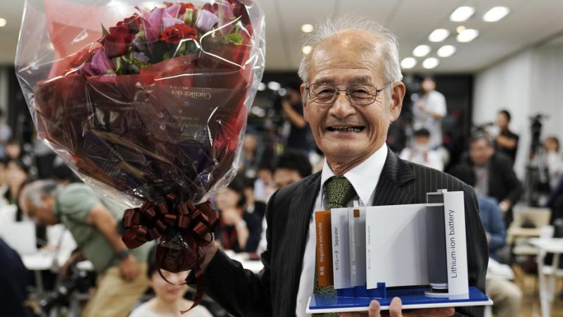 Battery pioneers awarded Nobel Prize