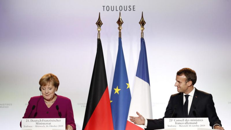 France and Germany ink compromise on arms export rules