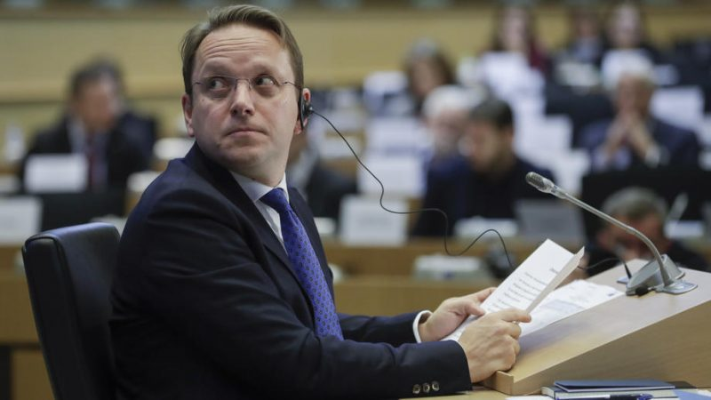Hungary's Commission pick survives enlargement test, deflects on Orban