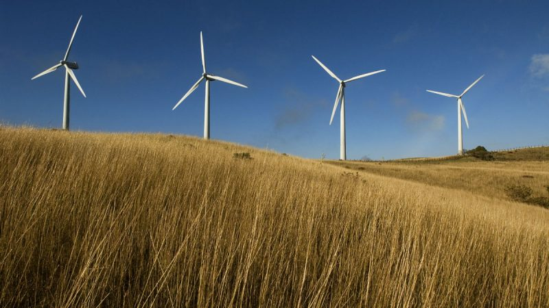 The Movasa Wind Farm in Costa Rica.