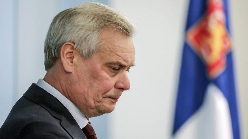 Finnish prime minister resigns