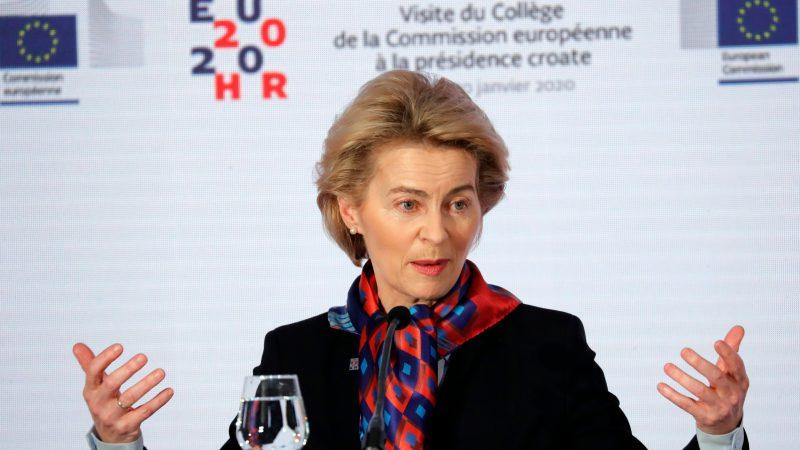 Von Der Leyen Fails To Convince That Her Commission Is