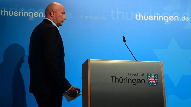 German leader's Angela Merkel's designated successor quits after far-right election crisis