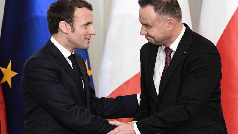 Macron Seeks Revival Of Weimar Triangle Defence Ties During Warsaw Visit Euractiv Com