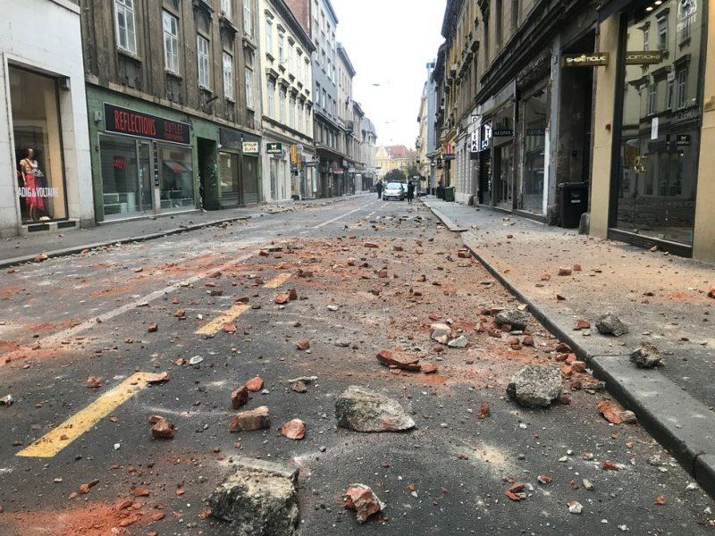 Croatia Handles Earthquake Damage Amid Covid 19 Outbreak Euractiv Com