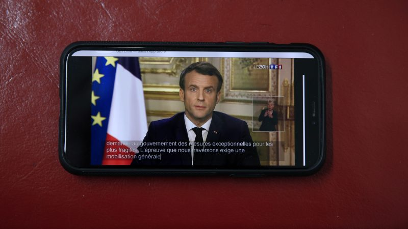 Coronavirus Macron Announces Drastic Measures In France Euractiv Com