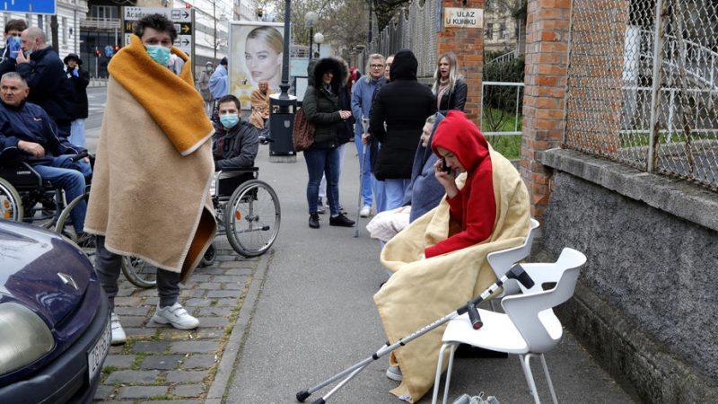 Croatia handles earthquake damage amid COVID-19 outbreak ...