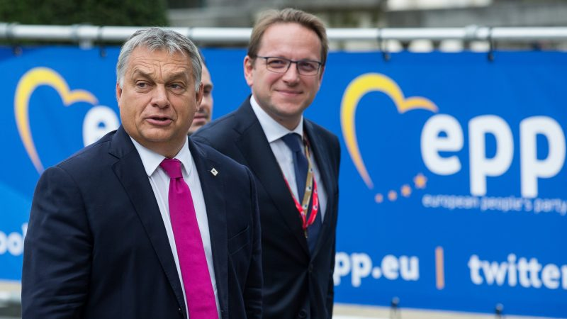 Orbán seeks EPP backing for his absolute powers