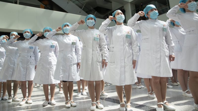 US says China trying to steal COVID-19 vaccine as markets slump