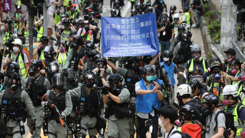 Hong Kong: Taiwan offers help amid anti-China protests