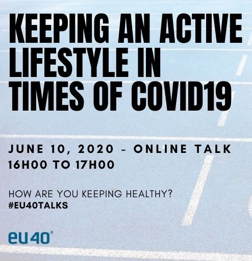 Keeping an active lifestyle in times of COVID19