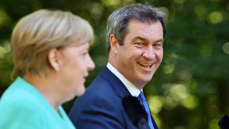 Meeting in Bavaria signals reconciliation between Merkel and...