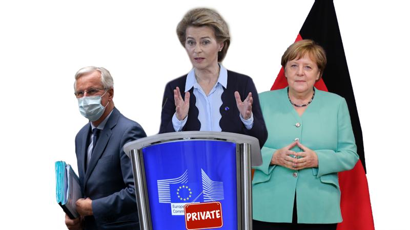 Tweets of the Week: VDL on Video, Merkel in the EP, Barnier en route