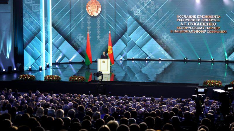 Belarus leader claims opposition 'massacre' plot ahead of vote