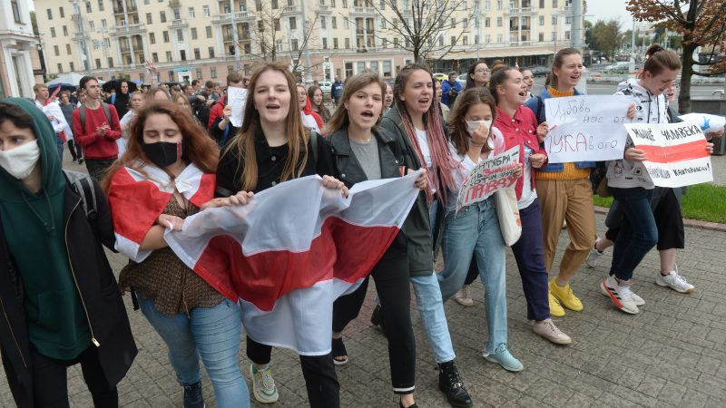 New Protests In Belarus As Opposition Squabbles Us Weighs Sanctions Euractiv Com
