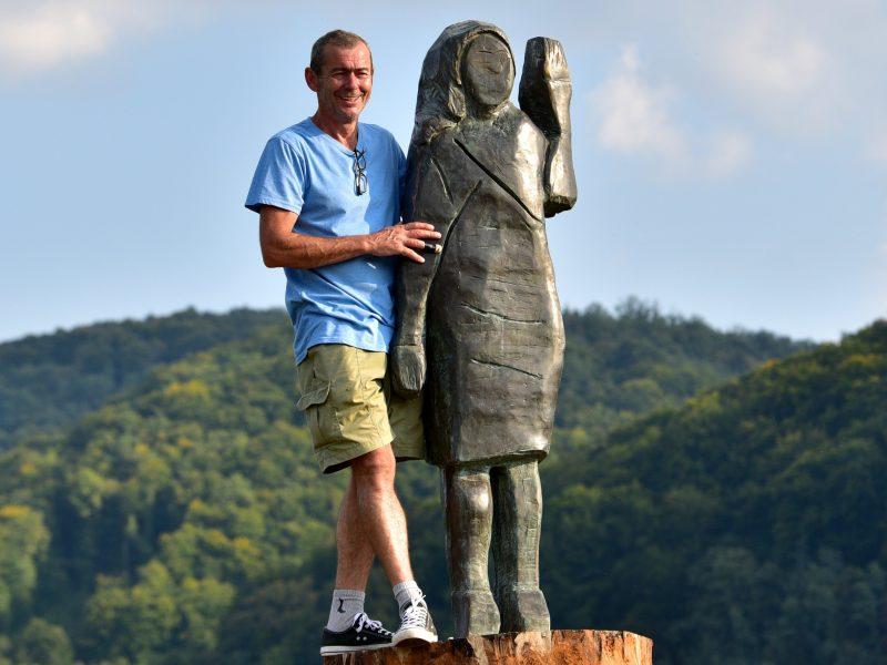 Bronze Statue Of Melania Trump Unveiled In Slovenia Euractiv Com