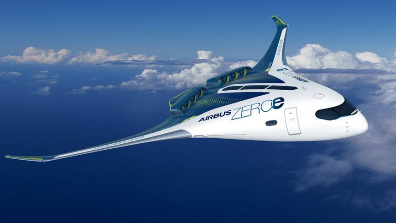 Airbus Unveils 3 Hydrogen-Powered Concept Aircraft