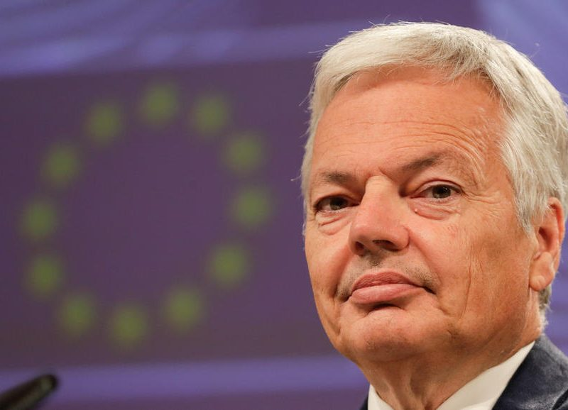 The EU's Justice Commissioner Didier Reynders tolds MEPs on Thursday that there would be no quick fix to finding a new EU-US data transfer deal, following the SchremsII case.