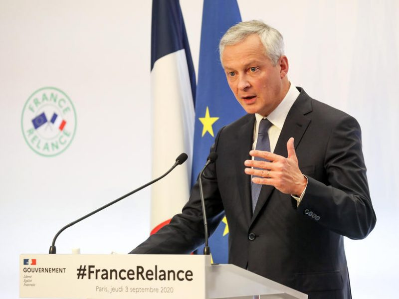 French Economy and Finance Minister Bruno Le Maire criticised Apple's market dominance in the EU on Tuesday, and said that the bloc's 'New Competition Tool' should rectify market imbalances in the digital economy.