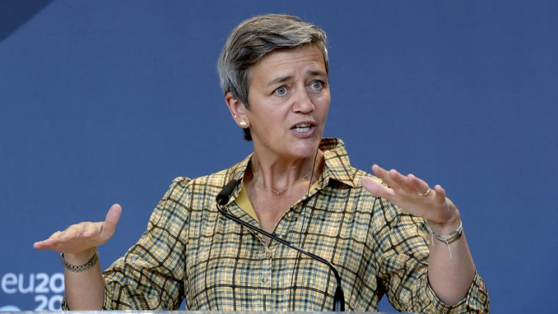 Europe's online marketplaces shouldn't be controlled by a small handful of dominant gatekeeper platforms, the EU's Digital Chief Margarethe Vestager has said, referring to her bid to reign in the market dominance of tech giants through the EU's forthcoming new competition tool.