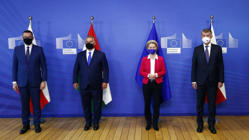 In Brussels, Visegrad Four reject the EUs migration...