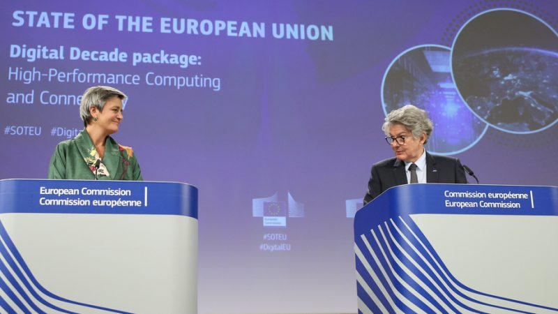 "The EU has the power to execute a potential breakup of global Big Tech giants, but it is not currently the ""right thing to do,"" the EU's Vice-President for Digital Affairs, Margrethe Vestager has said. Vestager's position puts her at odds with Internal Market Commissioner Thierry Breton, with reports surfacing that the Frenchman would like to keep the option of 'structural separations'  of the Big Tech giants on the table."