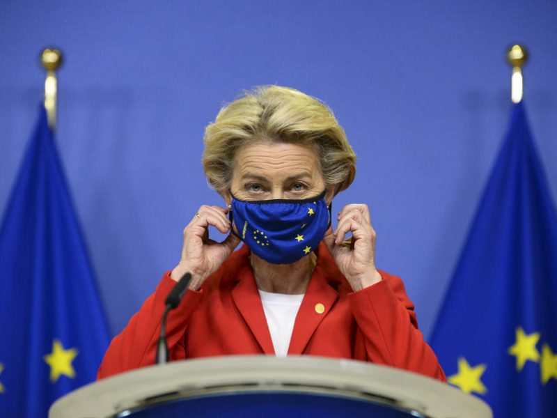 EU's von der Leyen undergoes 2nd self-isolation in two weeks