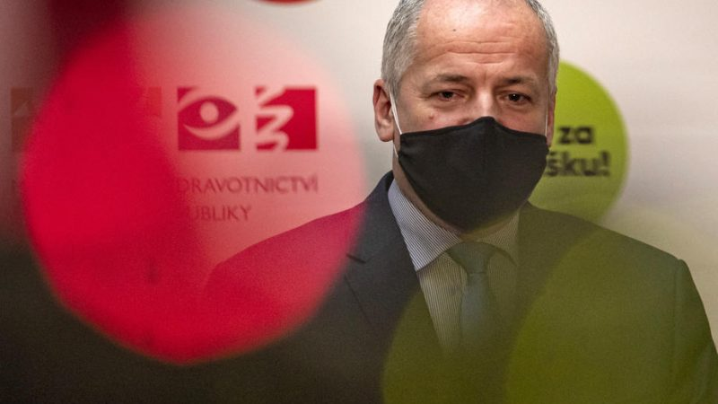 Czech health Minister breached his own rules – EURACTIV.com