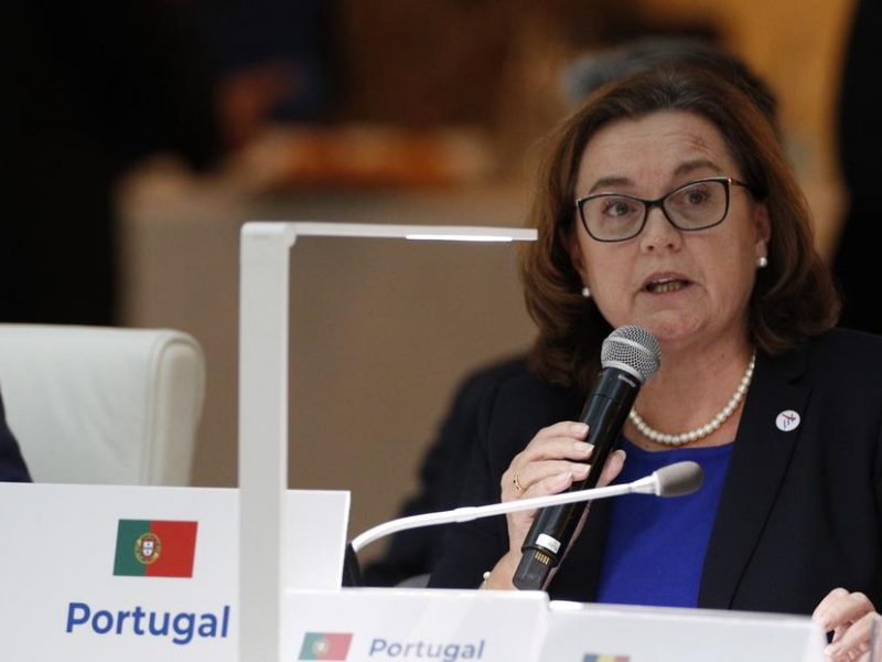 Portugal's State Secretary for Foreign Affairs, Ana Paula Zacarias.