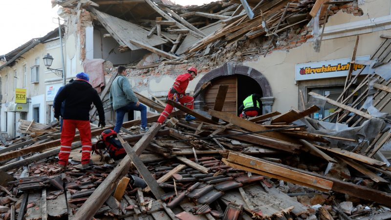 Croatia Earthquake Toll Rises To Seven Eu Announces Help Euractiv Com