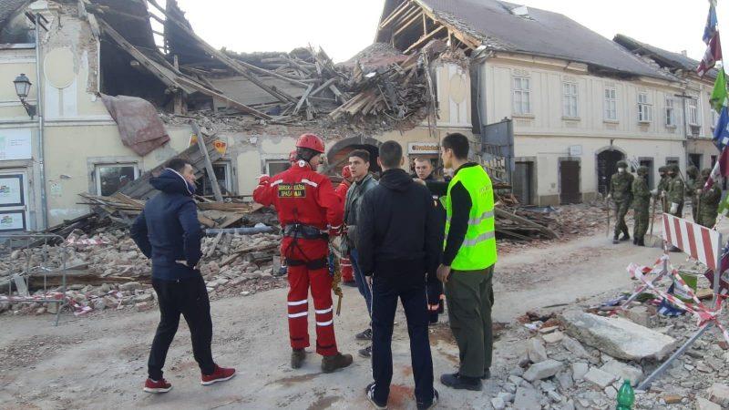 Many Injured As Strong Quake Strikes Croatia Slovenia Shuts Nuclear Plant Page 1550128 Euractiv Com