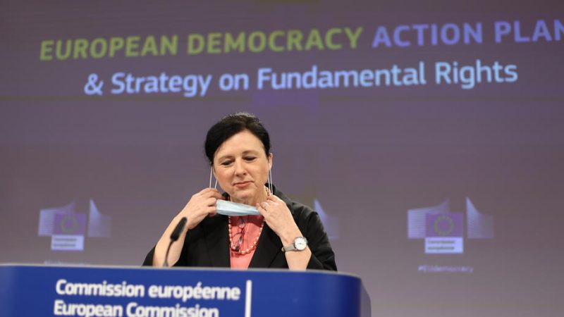 No 'ministry of truth', EU vows at democracy action plan launch