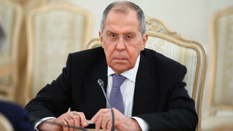 Image Russia's Lavrov slams West for pandemic 'selfishness'