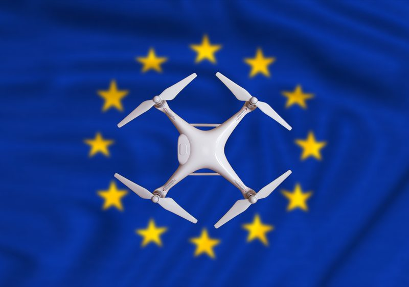 The European Commission on Monday (22 February) announced three flagship projects - in drone technologies, space communication and space traffic management - aimed at giving the 27-country bloc a competitive edge in these new fields.