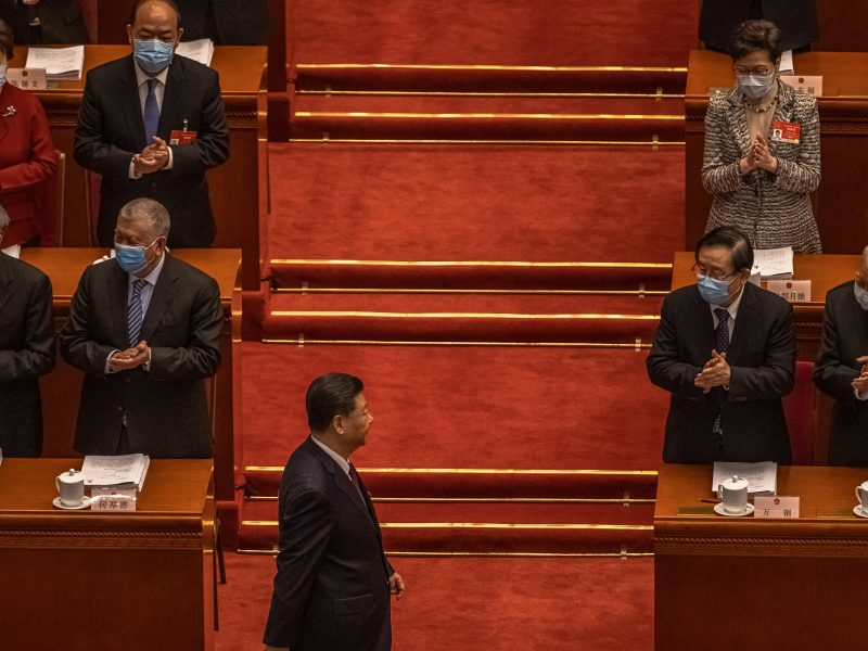China moves to tighten control over Hong Kong's electoral system