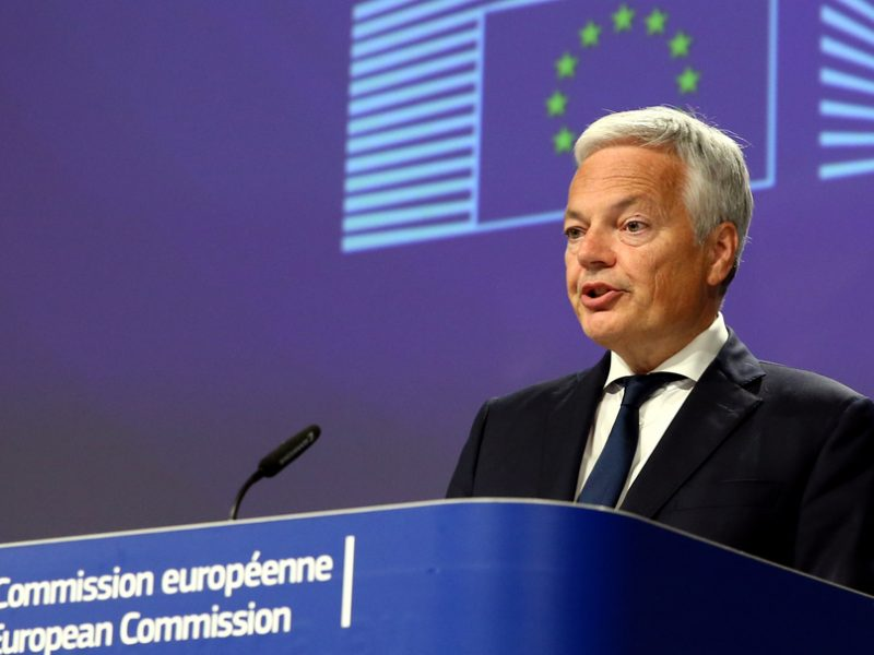 The European Commission is 'not naive' to the UK's future ambitions in the data space and will be 'prepared' to suspend transfers of personal data to the country should the UK in the future diverge from EU standards, Justice Commissioner Didier Reynders has said.