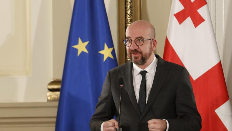Michel seeks to mediate Georgian political crisis – EURACTIV.com